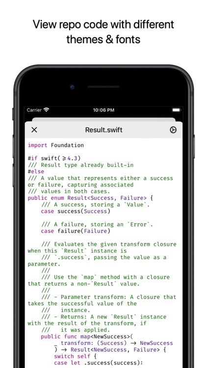 Coderx for GitHub screenshot-3