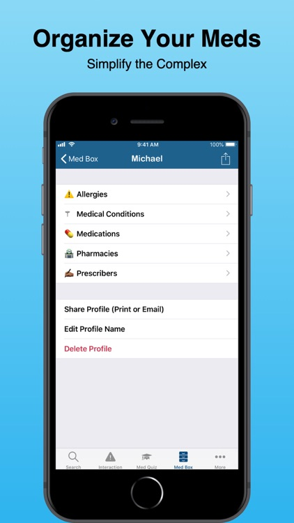 Pocket Pharmacist - Drug Info screenshot-4