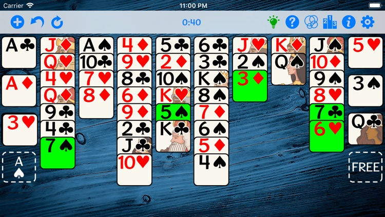 FreeCell Gold screenshot-3