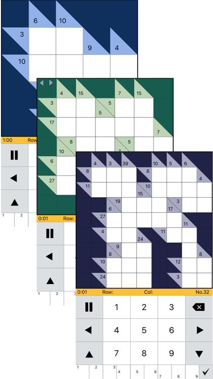 Kakuro Logic Puzzles!! by Topleftsoft LLC