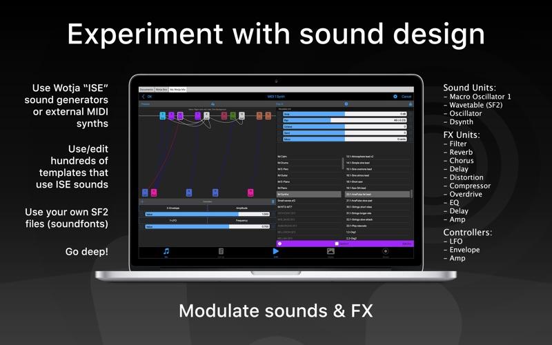 Wotja Pro 20: 生成的音乐 for Mac