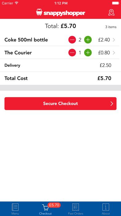 Snappy Shopper screenshot four