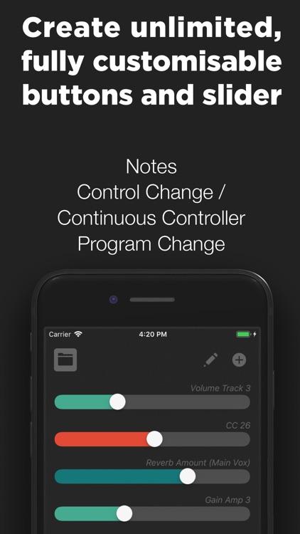 Midi Controller - Remote & USB