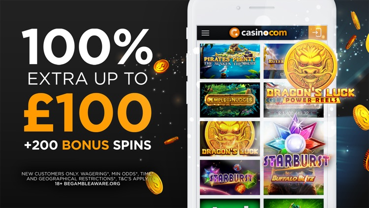 Casino.com: Live Games & Cards