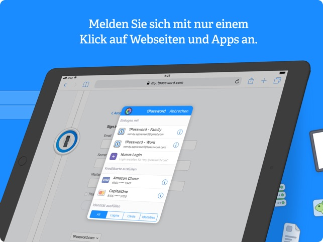 1Password - Password Manager Screenshot