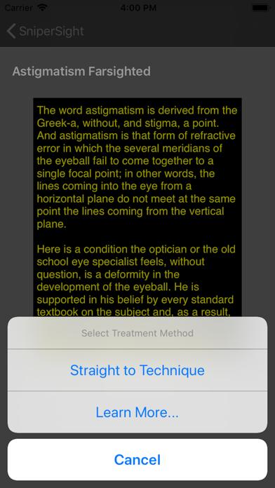 SniperSight: Eye Exercises Screenshots