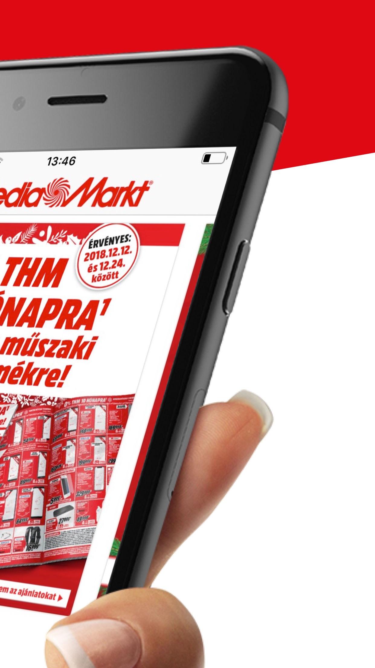 MediaMarkt Hungary Screenshot