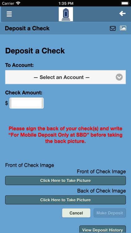 Savings Bank of Danbury Mobile screenshot-4