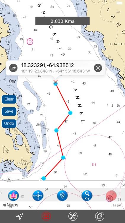 US Virgin Islands - Marine GPS