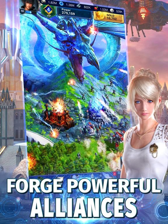 Final Fantasy XV: A New Empire - Revenue & Download