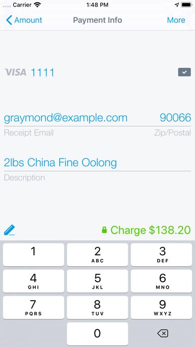 Credit Card Terminal & Reader screenshot one