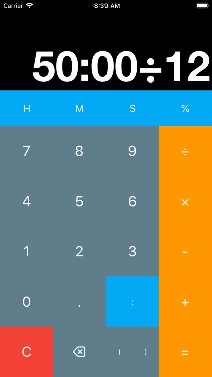 Timely Calculator