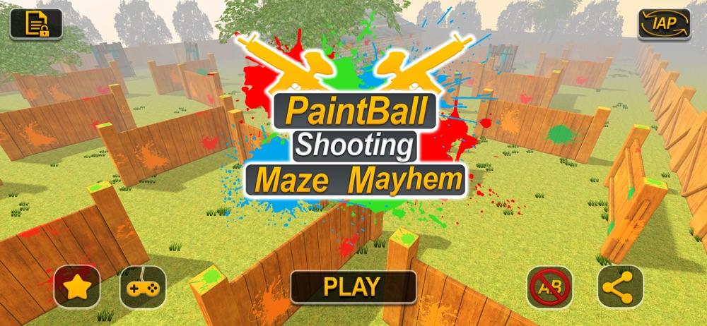 Paintball Shooting Maze Mayhem Cheat Codes
