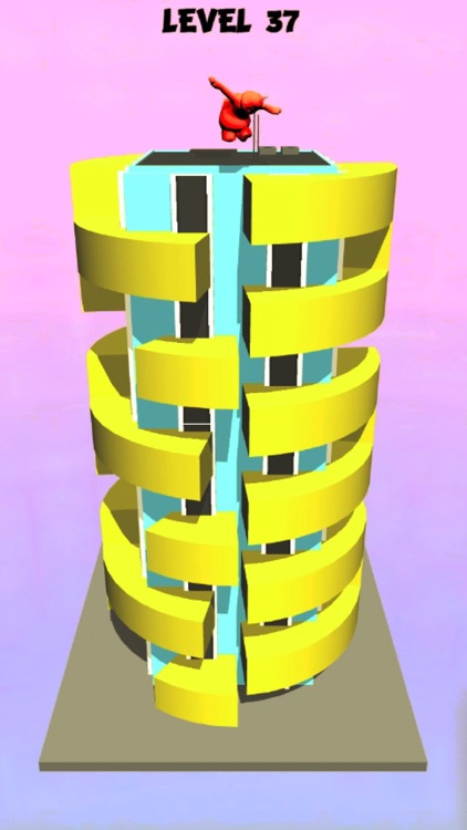 helix tower jump 3D screenshot-5