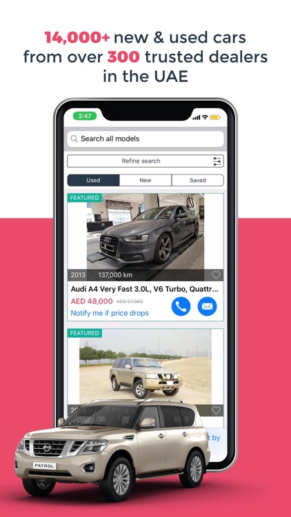 DubiCars | Used & New cars UAE screenshot-1