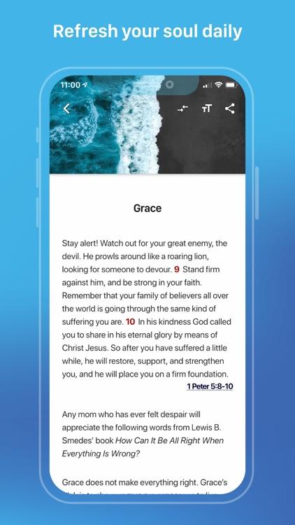 Refresh Daily Bible Devotional screenshot-4