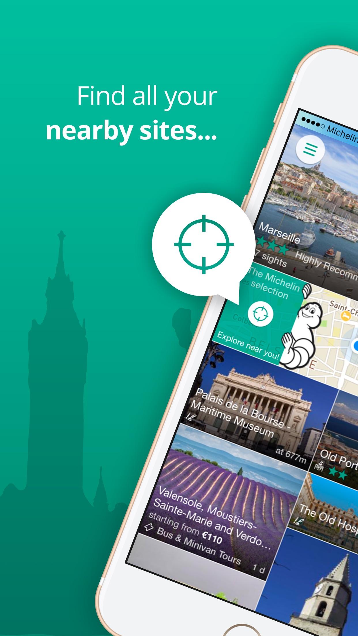 Michelin Travel Guide Screenshot