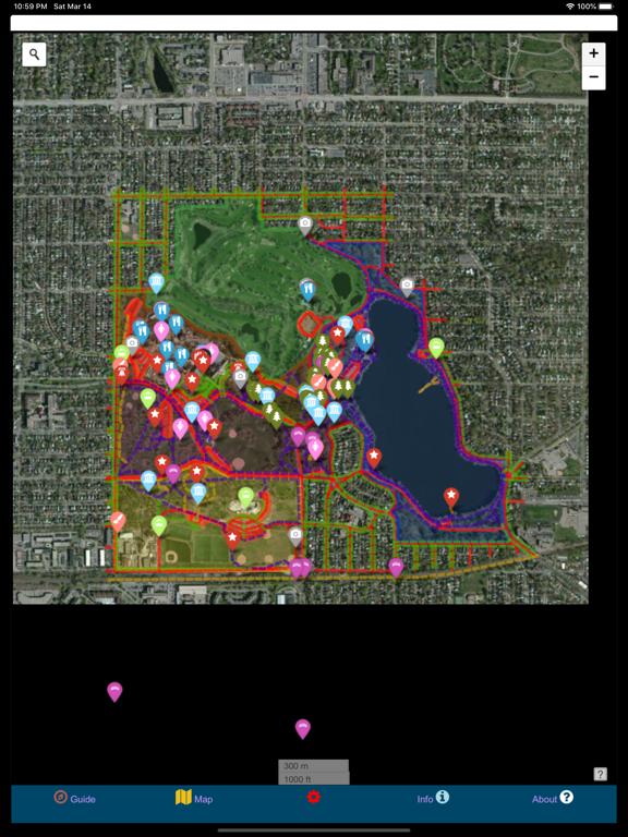 Como Park Map Guide by GeoPOI screenshot 2
