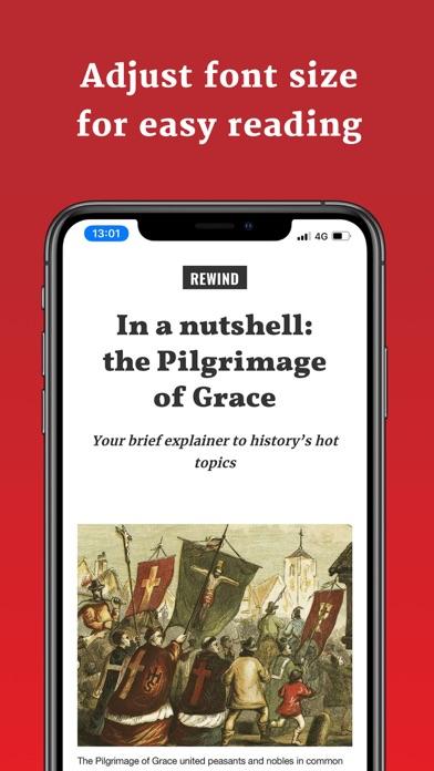 BBC History Revealed Magazine Screenshot