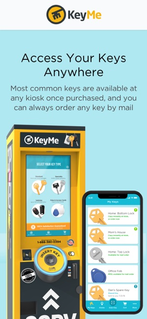 KeyMe: Copy & Share Keys on the App Store