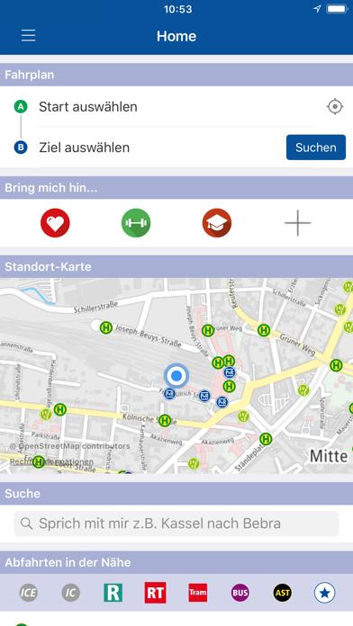 NVV Mobil screenshot one