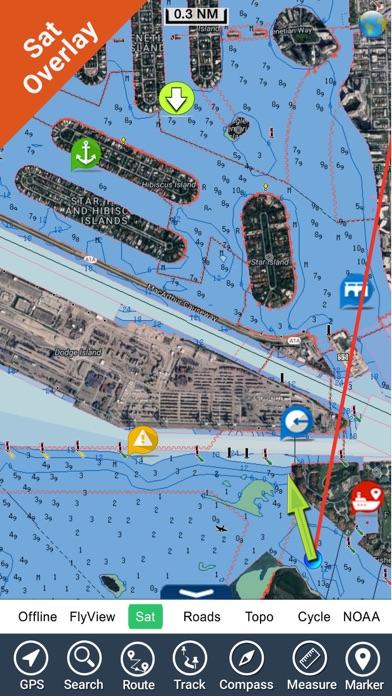 Florida Nautical Charts Gps Hd review screenshots
