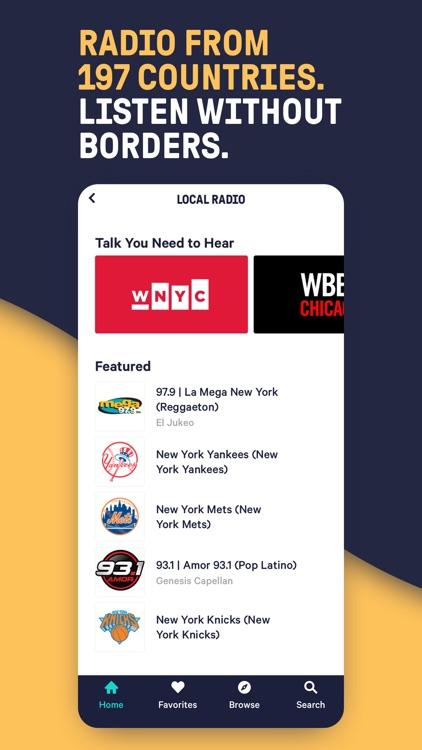 TuneIn Pro - Radio & Sports screenshot-3