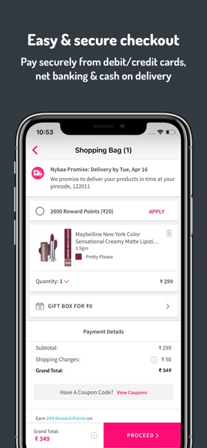makeup coupon app