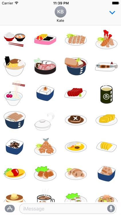 Japanese Food Sticker