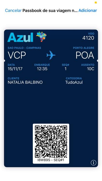 Azul Airlines screenshot-4