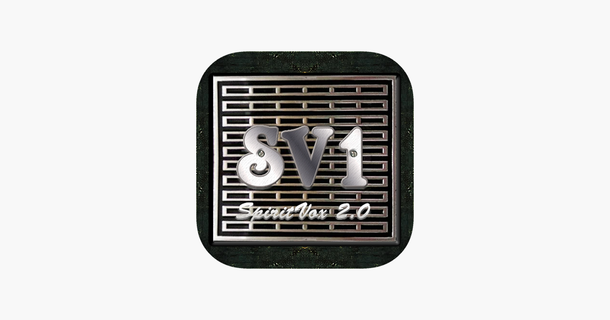 Sv 1 Spiritvox On The App Store
