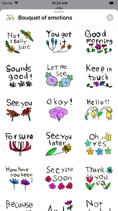 Bouquet of emotions screenshot 4