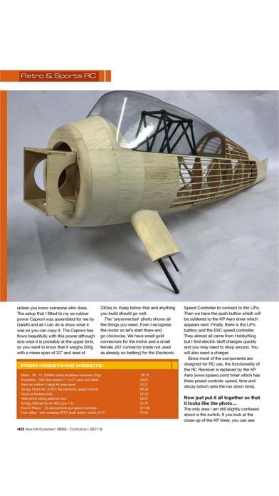 Aero Modeller Screenshot