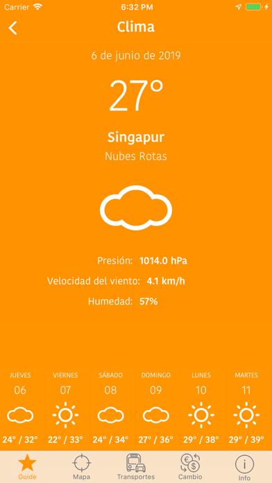 Singapur Mapa y Guía de ViajeCaptura de pantalla de8