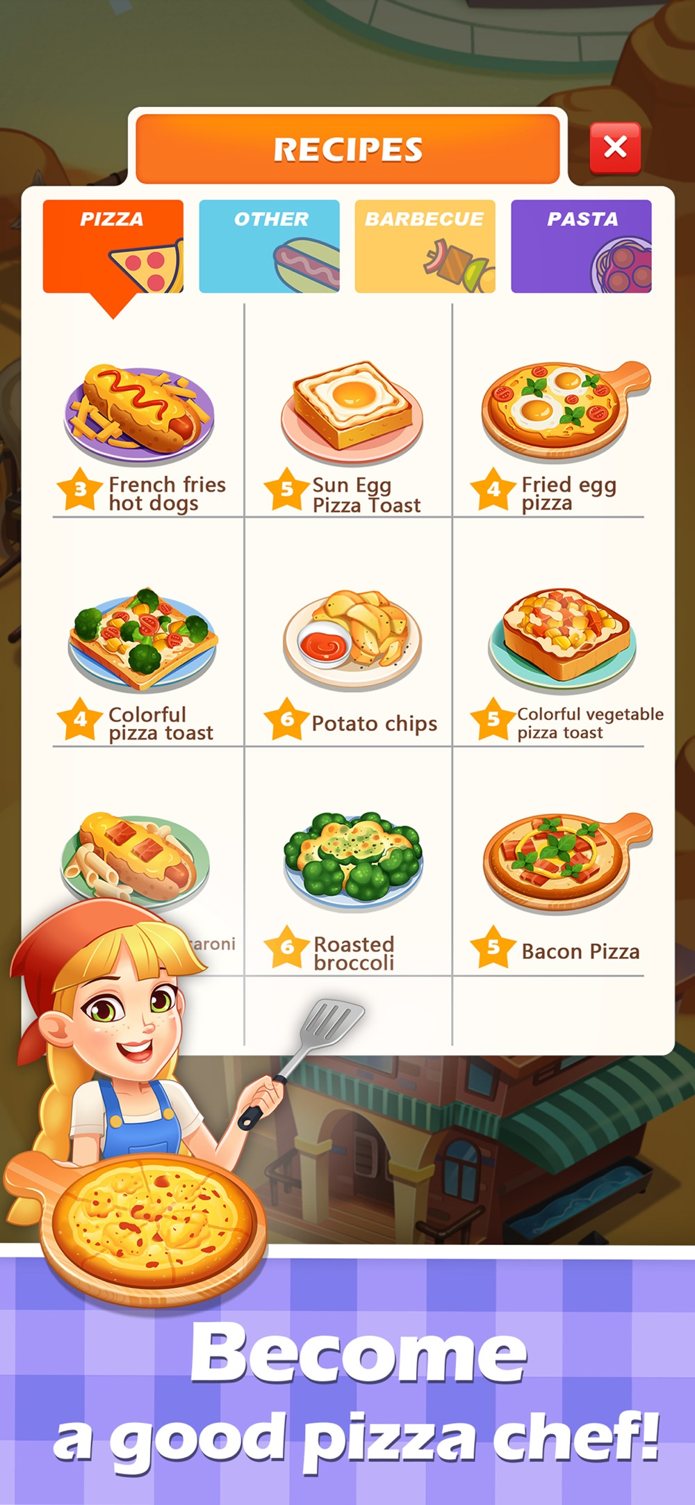 Pizza Master Chef Story Cheat Codes