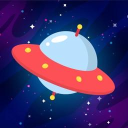 UFO Maze Funny Mobile