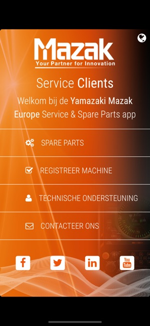 Mazak Benelux Service on the App Store
