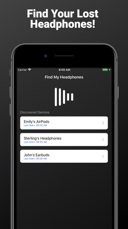 Hound - Headphone Finder