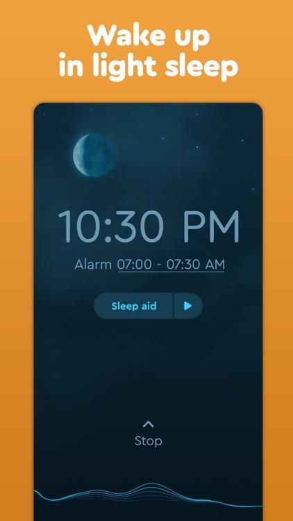 Sleep Cycle: smart alarm clock screenshot-4