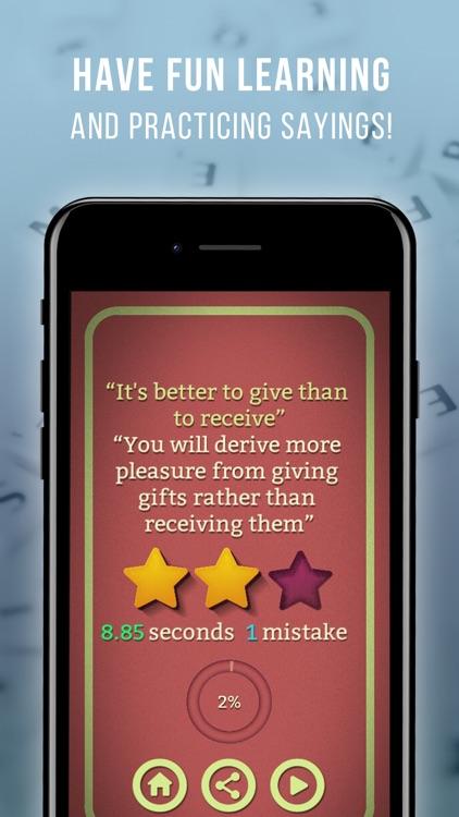 Proverbs & Sayings Master screenshot-2