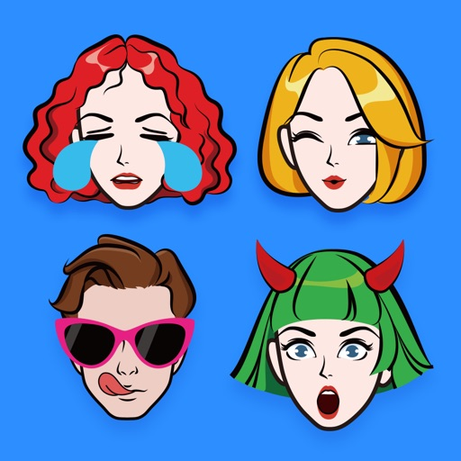 Your Avatar Creator | Zmoji free software for iPhone and iPad