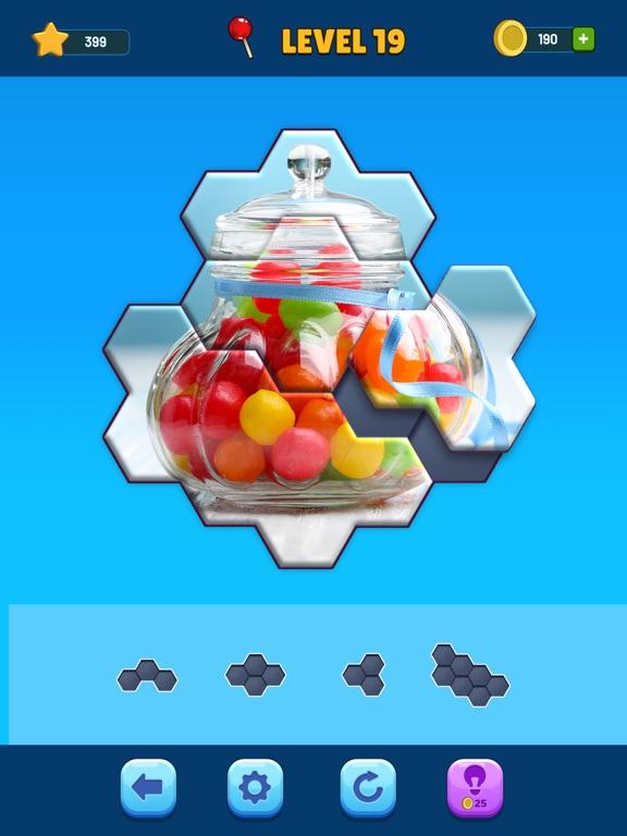 iPad Image of Hexa Jigsaw Puzzle™