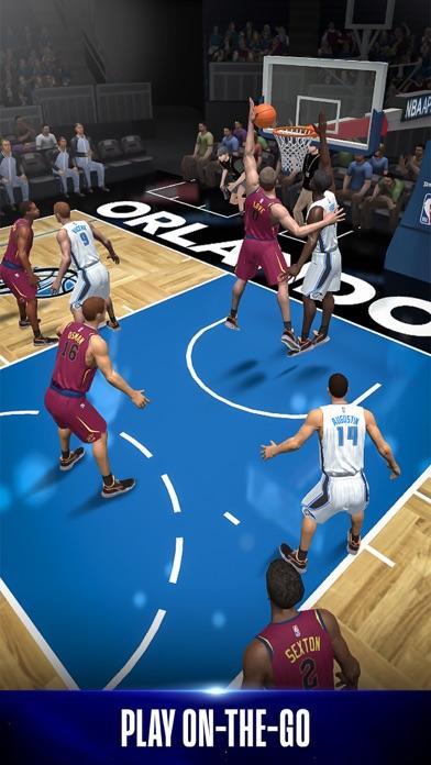 NBA NOW Mobile Basketball Game screenshot 1