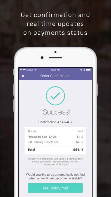TicketHero NY Parking Tickets screenshot-3
