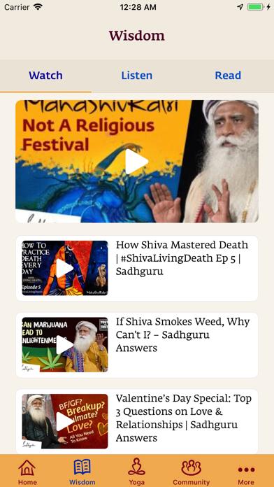 Sadhguru- Yoga & Meditationのおすすめ画像3