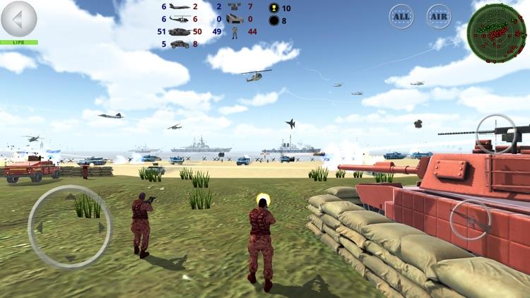 Battle 3D - Strategy game screenshot-6