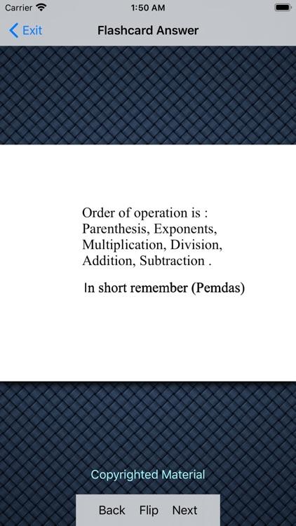 Basics Of Pre-Algebra screenshot-4