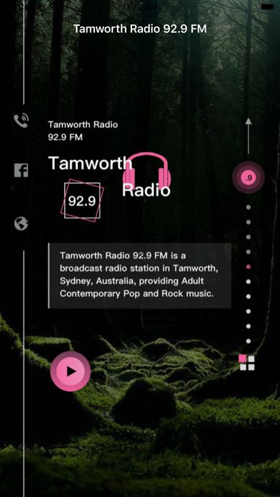 Tamworth Radio 92.9 FM screenshot 2