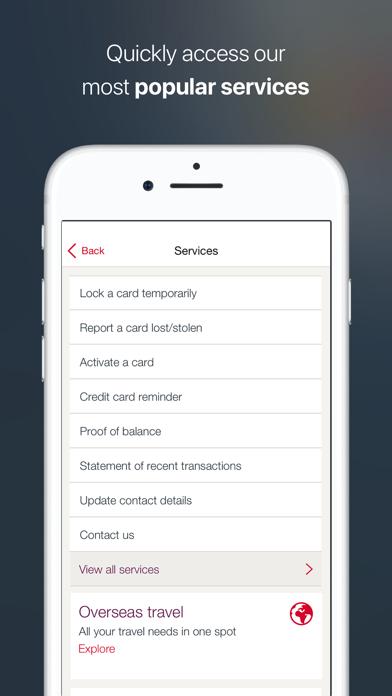 Westpac Mobile Banking screenshot three