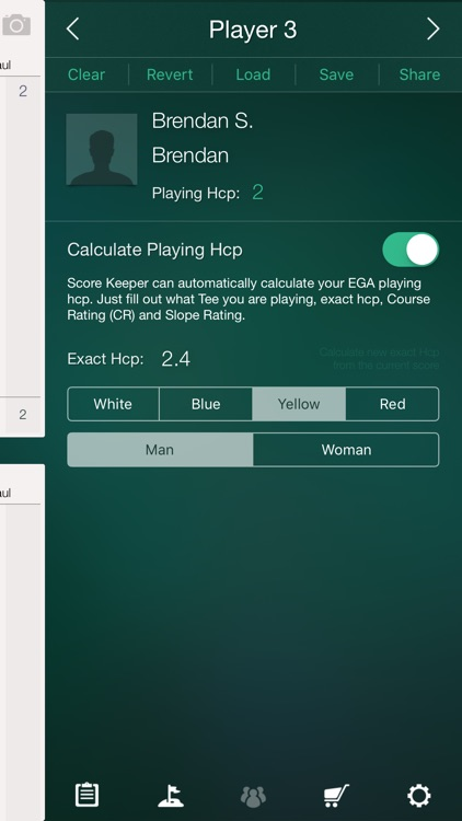 Score Keeper - Stableford screenshot-3